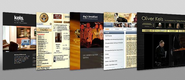 Vorschaubild Webdesign