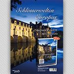 """Bildvorschau Buchhandels-Flyer """"Schlösserwelten Europas"""""""