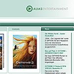 Bildvorschau WordPress-Website alias-entertainment.de