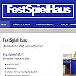 Bildvorschau WordPress-Website festspielhaus.biz